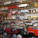 Interior of Walter's Toy Museum & Repair, Curtiss, WI