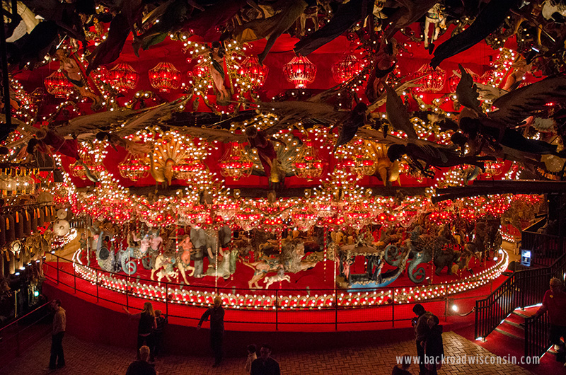 The Carousel, featured in Neal Gaiman's novel American Gods. If there ever was a portal to the otherworld, it would be this place.