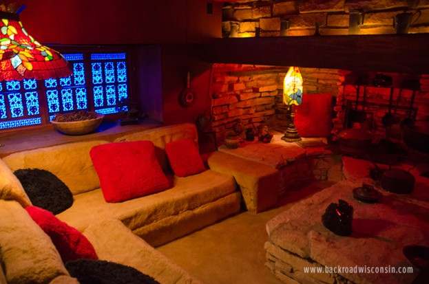 House on the Rock Conversation Pit